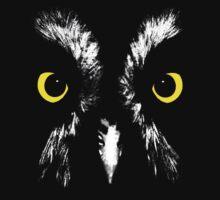 Owl Portrait Kids Tee