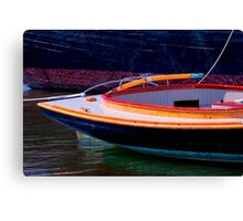 Rounding Out The Stern Canvas Print