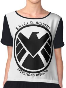 S.H.I.E.L.D. Academy Operations Division (black) Chiffon Top