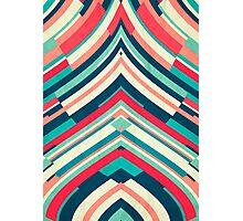 Coloured Lines Photographic Print