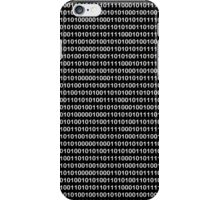 The Binary Code DOS version iPhone Case/Skin