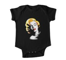 Marilyn Monroe Golden Hair One Piece - Short Sleeve