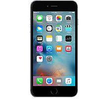 iphone 6 black front Photographic Print