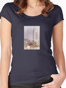 Old Timey Bottles Women's Fitted Scoop T-Shirt