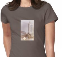 Old Timey Bottles Womens Fitted T-Shirt
