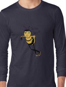 Bee movie ya like jazz Long Sleeve T-Shirt
