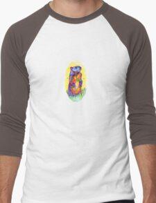 Groundhog drawing - 2011 Men's Baseball ¾ T-Shirt