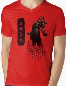 Metal Gear Solid 4 - Dissolving Snake Mens V-Neck T-Shirt