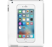 iphone 6 white front  iPad Case/Skin