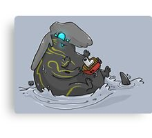 Baby Kaiju Canvas Print