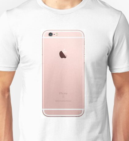 iphone 6 rose gold back  Unisex T-Shirt