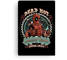 Dead Hot Sauce Canvas Print