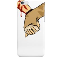 hold hands with me iPhone Case/Skin