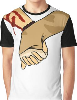 hold hands with me Graphic T-Shirt