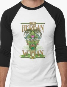 The Herban Woman Men's Baseball ¾ T-Shirt