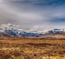 The Black Mount Glencoe Scotland by M.S. Photography/Art