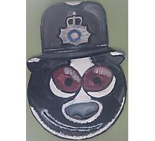 Police Badger Photographic Print