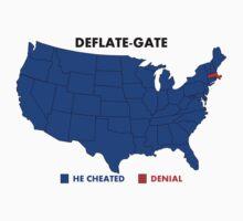 Deflate-Gate Opinion Poll One Piece - Short Sleeve