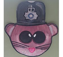Police Mouse Photographic Print