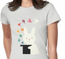 Magic Of Peace Womens Fitted T-Shirt