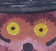 Police Owl Sticker