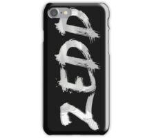 ZEDD LOGO PAINTING iPhone Case/Skin