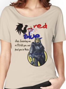 Red Vs Blue Women's Relaxed Fit T-Shirt