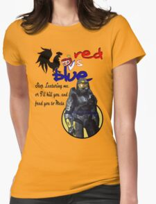 Red Vs Blue Womens Fitted T-Shirt