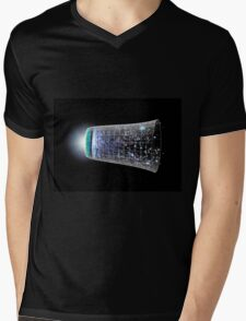 WMAP's View of Our Inflationary Universe Mens V-Neck T-Shirt