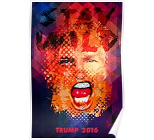 Stay Wild - Trump 2016 Poster