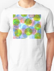 Green Red Blue Circles T-Shirt