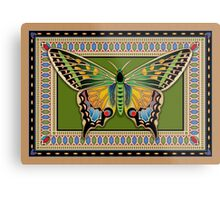 Jeweled Butterfly Metal Print