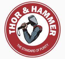 Thor and Hammer Kids Tee