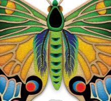 Jeweled Butterfly Sticker