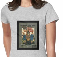 Women's Land Army  of USA WWI Womens Fitted T-Shirt