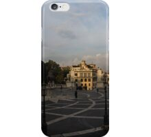 Michelangelo's Wonderful Square - Piazza del Campidoglio, Rome iPhone Case/Skin
