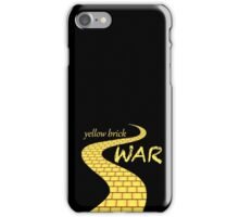 Yellow brick war iPhone Case/Skin