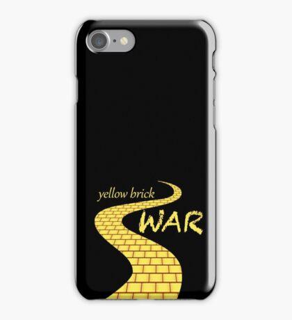 Yellow brick war iPhone Case/Skin