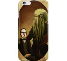 Lovecraft and Cthulhu iPhone Case/Skin