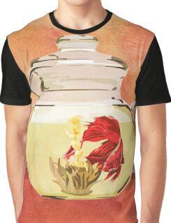 Beta Fish Tea by Kenzie McFeely Graphic T-Shirt