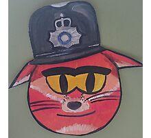 Police Fox Photographic Print