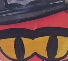 Police Fox Sticker