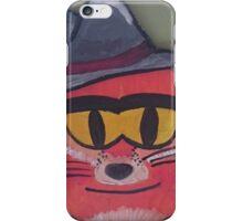 Gangster Fox iPhone Case/Skin