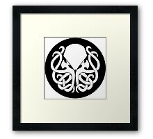 House Cthulhu Framed Print