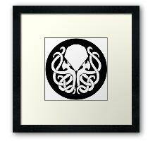 House Cthulhu Framed Print