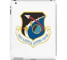 Space and Missile Systems Center Shield iPad Case/Skin