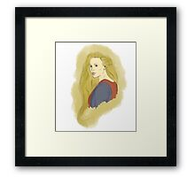 Buttercup The Princess Bride Paint Framed Print