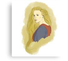 Buttercup The Princess Bride Paint Canvas Print