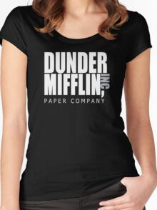 Dunder Mifflin Paper Company - The Office Women's Fitted Scoop T-Shirt