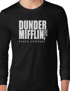Dunder Mifflin Paper Company - The Office Long Sleeve T-Shirt